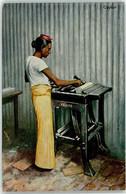 53251181 - Krause Maschinenfabrik Leipzig Frau Aus Ceylon - Advertising