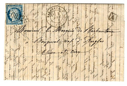 45558 - DE BARBENTANE - 1849-1876: Periodo Classico