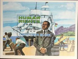 Turks & Caicos 1980 Human Rights Minisheet MNH - Turks E Caicos
