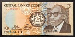Lesotho 2 Maloti 1989 FDS UNC Pick 9 Lotto 3415 - Lesotho