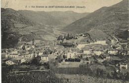 Vue Generale De SAINT GERVAIS SUR MARE (Herault) RV - Other Municipalities