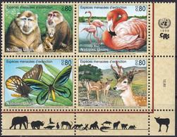 UNO GENF 1998 Mi-Nr. 330/33 ** MNH - Nuevos