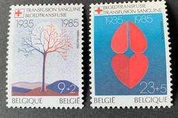 1985 - Het Belgische Rode Kruis  - Postfris/Mint - Unused Stamps