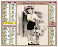 CALENDRIER GF 1996 - Enfant Et Romantisme, Imprimeur Oberthur Rennes (calendrier Double) - Big : 1991-00