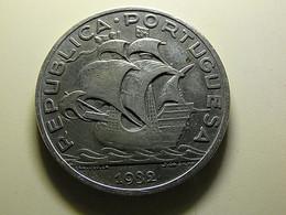 Portugal 10 Escudos 1932 Silver - Portogallo