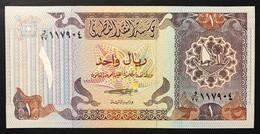 Qatar/Qatar  1 Riyal Omani 1985 UNC Pick 13 Lotto 3419 - Qatar