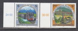 Austria 1997 - Eisenbahnen, Mi-Nr. 2223/24, MNH** - 1991-00 Nuevos & Fijasellos