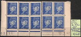 NB - [825959]B/TB//**/Mnh-France 1941 - N° 510, 70c Pétain, Dont Adhérences - 1941-42 Pétain