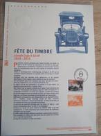 Document Philatélique 2019 : Fete Du Timbre : Citroen Type A 10 HP - Documentos Del Correo