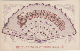 Saint-Crépin-Ibouvillers (Oise) (60 - Oise) Souvenir Façon éventail - Altri Comuni