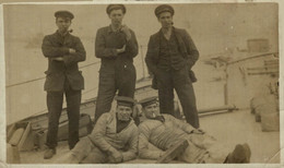 RPPC Naval H.M.S. EXD    Photo Postcards Military Navy - Otros