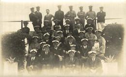 RPPC THE CREW   Photo Postcards Military Navy - Altri