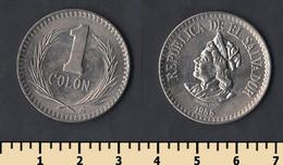 El Salvador 1 Colon 1985 - El Salvador
