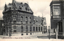 Belgique - Middelkerke - Digue De Mer - La Poste - Middelkerke