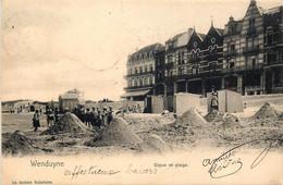 Belgique - Wenduyne - Digue Et Plage - Edit. La Lecture Balméaire - Wenduine