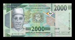 Guinea 2000 Francs 2018 (2019) Pick New SC UNC - Guinea