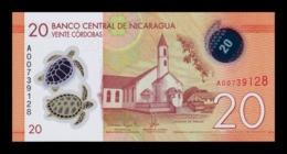 Nicaragua 20 Córdobas 2014 Pick 210 Polymer SC UNC - Nicaragua