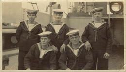 RPPC  H.M.S. ODEN   Photo Postcards Military Navy - Otros