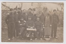 - 55 - MONTFAUCON D'ARGONNE - Carte Photo Militaire 1914/18 D'un Groupe De Soldats Du 9eme Régiment D'Artillerie à Pied. - Altri Comuni