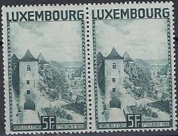 Luxembourg - Luxemburg - Timbres  1934  Porte Des 3 Tours  Paire  MNH** - Blokken & Velletjes