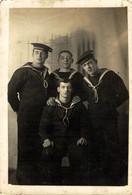 RPPC THE CREW   Photo Postcards Military Navy  Cartes Postales Photo Marine Militaire - Otros