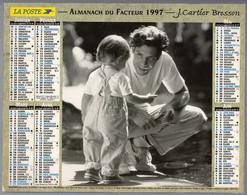 CALENDRIER GF 1998 - Enfants Et Romantisme, Imprimeur Oller Et JC Bresson (calendrier Double) - Big : 1991-00