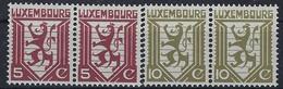 Luxembourg - Luxemburg - Timbres  1930  Freimarken Löwe - Usage Courant Lion MNH** - Blocks & Kleinbögen