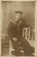 RPPC H.M.S. WARRIOR  Photo Postcards Military Navy  Cartes Postales Photo Marine Militaire - Otros