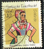RDA 70 - ALLEMAGNE ORIENTALE N° 1419 Obl. Costumes - Used Stamps