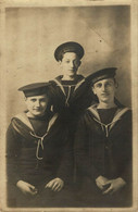 RPPC H.M.S. DOMINICO  Photo Postcards Military Navy  Cartes Postales Photo Marine Militaire - Otros