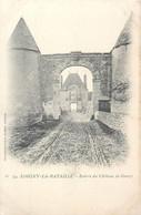CPA 28 Eure Et Loir Loigny La Bataille Entrée Du Chateau De Goury - Loigny
