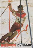 Michel Canac, France Alpine Skier, Participated In 1984 Sarajevo Olympics - Mint Postcard (G128-13) - Ski