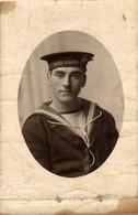 RPPC H.M.S. VERNON  Photo Postcards Military Navy  Cartes Postales Photo Marine Militaire - Otros