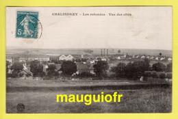 CHEMINS DE FER / LES ROTONDES DE CHALINDREY (HAUTE-MARNE) , ET VUE DES CITÉS / 1912 - Unclassified