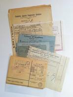 Carte Amministrative E Contratti Diversi Gualdo Tadino E Altre Località - Lotto Di 25/30 Documenti - Italy