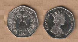 GIBRALTAR 50 Pence -(Christmas) 2014 Non-circulating Coin Copper-nickel • 8 G • ⌀ 27 Mm - Gibraltar