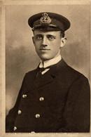 RPPC LT COM HOLBROOK V.C.  Photo Postcards Military Navy  Cartes Postales Photo Marine Militaire - Otros