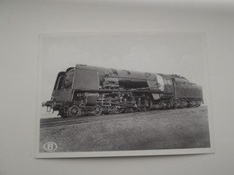 "LOCOMOTIEF: Type 1 ""Superpacific"" - TREIN - TRAIN - NMBS - SNCB - Trains"