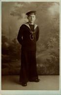 RPPC H.M.S. Q. ELIZABETH  Photo Postcards Military Navy  Cartes Postales Photo Marine Militaire - Otros