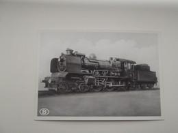 """LOCOMOTIEF: Type 7 """"Ten Wheel"""" - TREIN - TRAIN - NMBS - SNCB - Trains"""