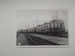 ELECTRISCHE TREIN: TREIN - TRAIN - NMBS - SNCB - Trains