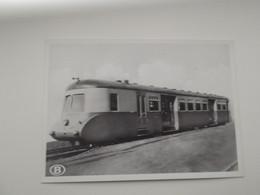 Motortrein 2e En 3e Klasse Voor Locaalverkeer: TREIN - TRAIN - NMBS - SNCB - Trains