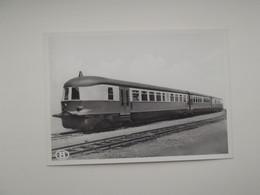 Diesel-electrische Drieledige Motorwagen 2e En 3e Klasse: TREIN - TRAIN - NMBS - SNCB - Trains