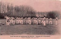 94-JOINVILLE- ECOLE NORMALE DE GUMNASTIQUE - REDOUTE DE LA FAISANDERIE, EXERCICE D'ENSEMBLE BOXE ; LA GARDE - Joinville Le Pont
