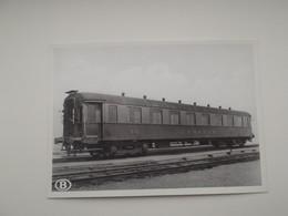Metalen Rijtuig 1e En 2e Klasse Voor Internationaal Verkeer: TREIN - TRAIN - NMBS - SNCB - Trains