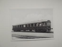Metalen Rijtuig 3e Klasse Voor Snel Binnenverkeer: TREIN - TRAIN - NMBS - SNCB - Trains