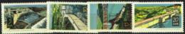 RDA 72 - ALLEMAGNE ORIENTALE N° 1096/99 Obl. Barrages - Usados