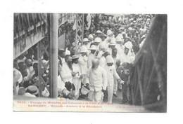 DAHOMEY VOYAGE DU MINISTRE DES COLONIES A LA COTE D AFRIQUE WHIDAH ARRIVEE A LA RESIDENCE COLLECTION FORBIER - Dahomey