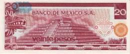 MEXICO  P. 64d 20 P 1977 UNC - Mexico