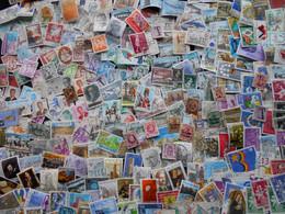 Très Beau Lot D Plus De 1200 Timbres &100 Beau  Timbres En Bonus (a Ne Pas Rater) - Lots & Kiloware (mixtures) - Min. 1000 Stamps